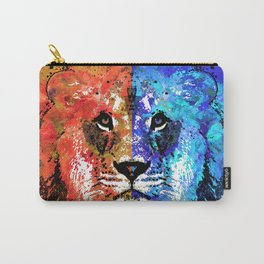 Lion Art - Majesty - Sharon Cummings Carry-All Pouch