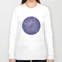moon phases Long Sleeve T-shirts featuring Moon Phases by Cina Catteau