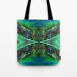 Textures Eye (view 4) Tote Bag