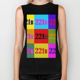 221B Color Block Biker Tank