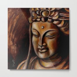 Face of Mercy No. Two Metal Print