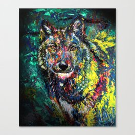 Wolf Canvas Print