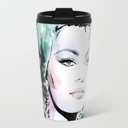 Vogue Fashion Illustration #9 Travel Mug