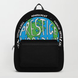 Prestige Worldwide Enterprise, The First Word In Entertainment, Step Brothers Original Design for Wa Backpack