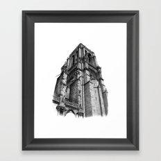Notredame Paris Framed Art Print