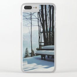 Attersee (13a) Clear iPhone Case