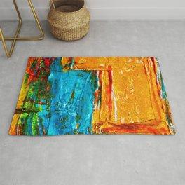 Colorfol paintin background Rug