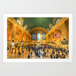 Grand Central Station New York Art Print