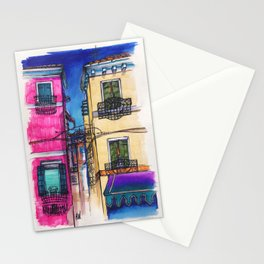 """""""Burano"""" Drawing Stationery Cards"""