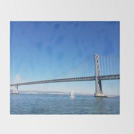 Bay Bridge Throw Blanket