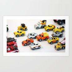 Micro Machine - Toy car Art Print