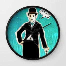 The Tramp/Charlie Chaplin Wall Clock
