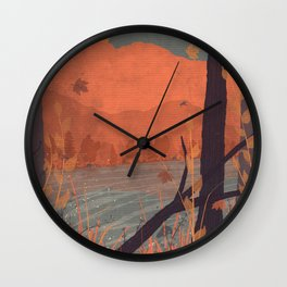 Autumn in the Gorge... Wall Clock