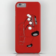 The Italian Job Red Mini Cooper iPhone 6 Plus Slim Case
