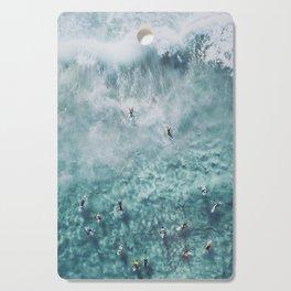 lets surf xx Cutting Board