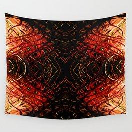 Scarlet Pearl Sea Fan II by Chris Sparks Wall Tapestry