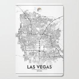 Minimal City Maps - Map Of Las Vegas, Nevada, United States Cutting Board