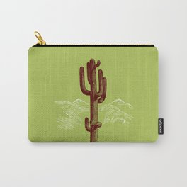 cactus y nieve Carry-All Pouch