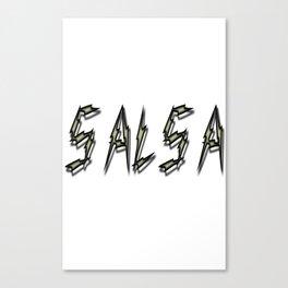 Salsa Arco Canvas Print