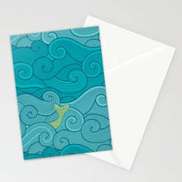 Surf Side - AQUA Stationery Cards