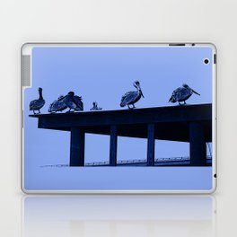 Blue Pelicans Laptop & iPad Skin