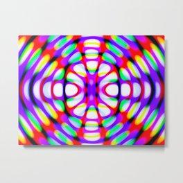 Robotic Hypnotic Metal Print