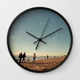 Saturday Wall Clock