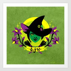 Social Justice Witch Art Print