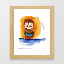 Redbeard Framed Art Print