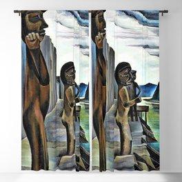 12,000pixel-500dpi - Emily Carr - Blunden Harbour - Digital Remastered Edition Blackout Curtain