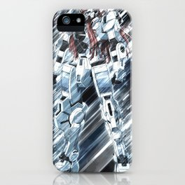 gundam artwork 14 iPhone Case