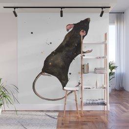 Velveteen Rat Wall Mural
