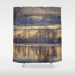 Grace and Lightness Shower Curtain