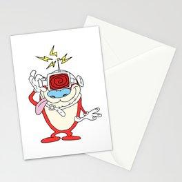 Stimpy Mind Control Stationery Cards