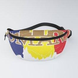 Romania gift Bucharest Transylvania Romanian Fanny Pack