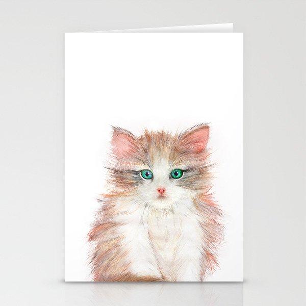 Little Kitten Stationery Cards