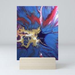 Blue Lightning  Mini Art Print