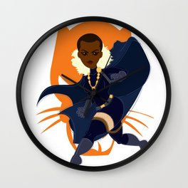 The Cat Princess Wall Clock