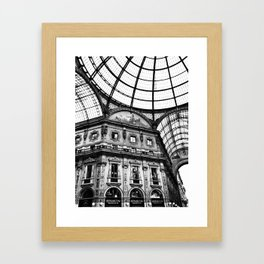 Galleria Vittorio Emmanuelle Framed Art Print