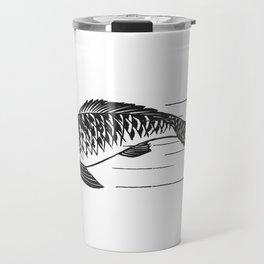 Koi Japanese fish Travel Mug
