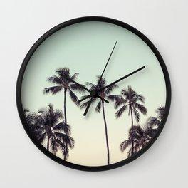 palmtreeeeeee Wall Clock