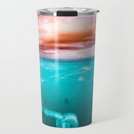 Fire and Water Sea Travel Mug