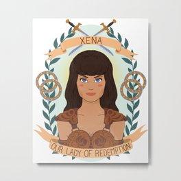 Xena Metal Print