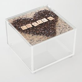 Love Coffee Acrylic Box