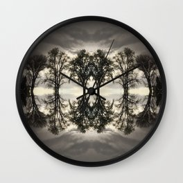 : peace above :  Wall Clock