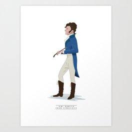 Mr. Darcy Art Print