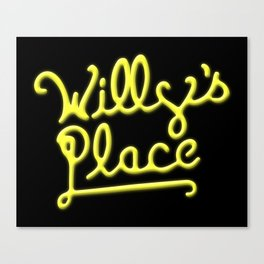 Willy's Place Canvas Print