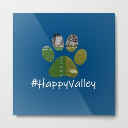 #HappyValley Metal Print