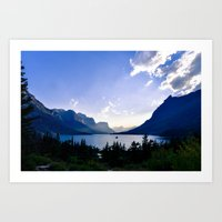 St. Mary's Lake  Art Print