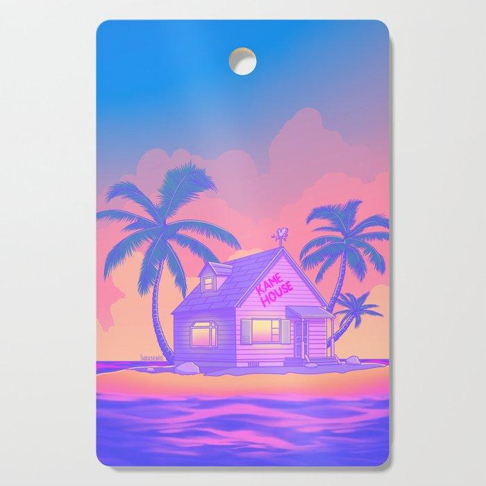 80s Kame House Cutting Board